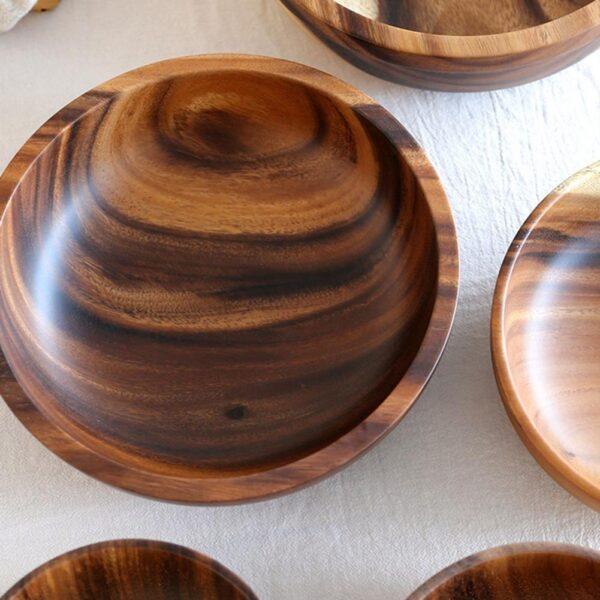 cuenco de madera de haya