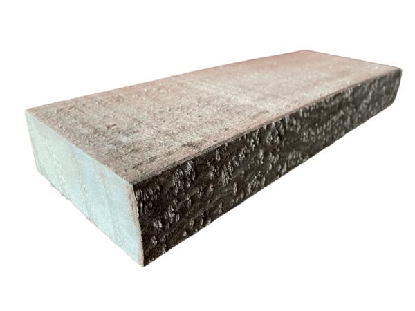 mini tablón de madera natural estantería